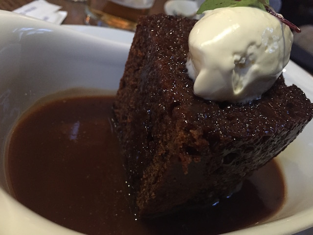 Whisky and Coke Sticky Toffee Pudding