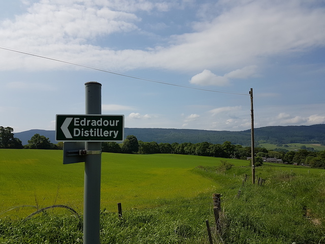 The path to Edradour