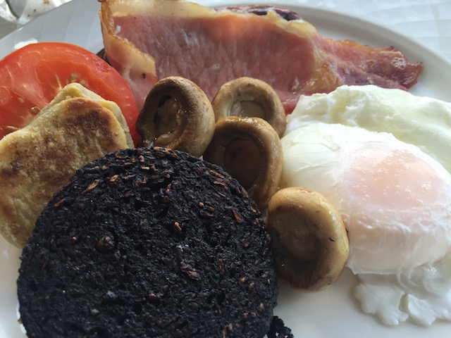 Breakfast at Loch Melfort