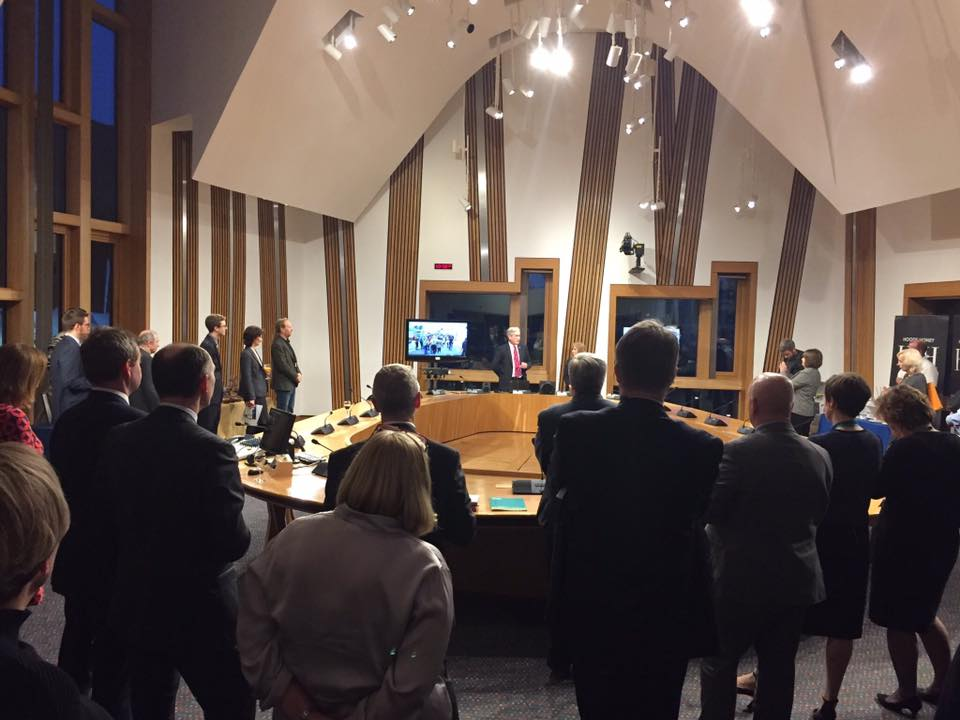 East Lothian Food at the Scottish Parliament