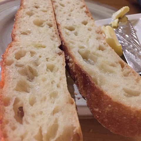Delicious homemade bread
