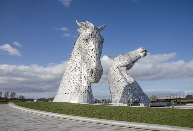The Kelpies, Helix Park by Falkirk