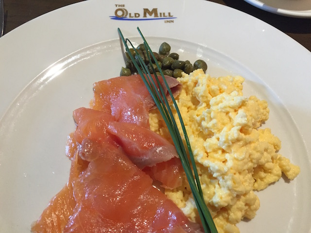 Dunked Smoked Salmon and Scrambled Eggs