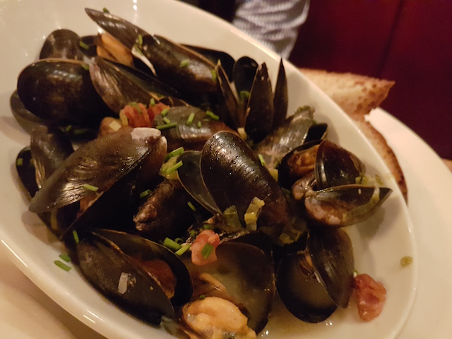 Kinlochleven Mussles at The Queens Arms