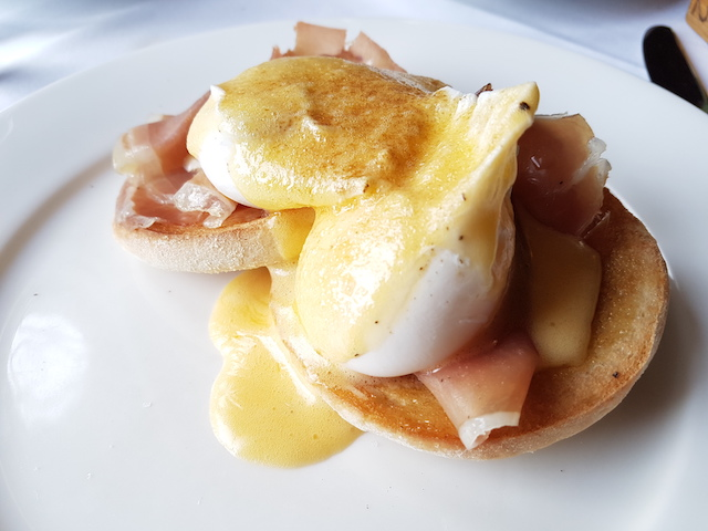 Eggs Benedict at Knockderry House