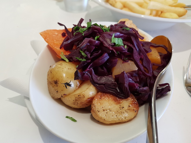 Potatoes and Roasted Vegetables