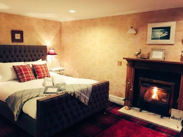 A Superior Deluxe Room at East Haugh House Hotel