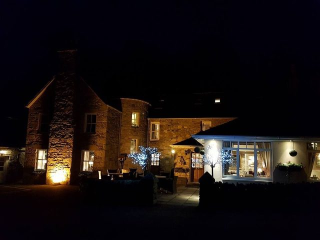 The very cosy East Haugh House Hotel