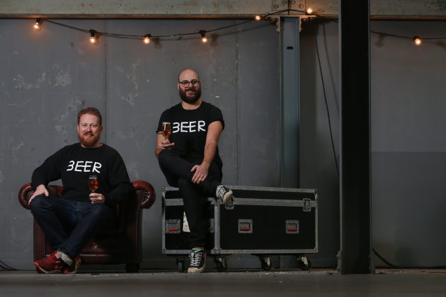 BEER Festival Edinburgh 1 SA : Greg and Dan for BEER festival photoshoot Picture by Stewart Attwood T. 07850 449108 E. stewart.attwood@yahoo.co.uk photography@stewartattwood.com . All images © Stewart Attwood Photography 2016. All other rights are reserved. Use in any other context is expressly prohibited without prior permission.