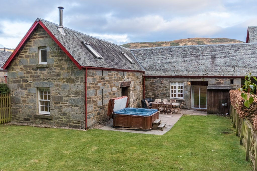 Stay at Mains of Taymouth