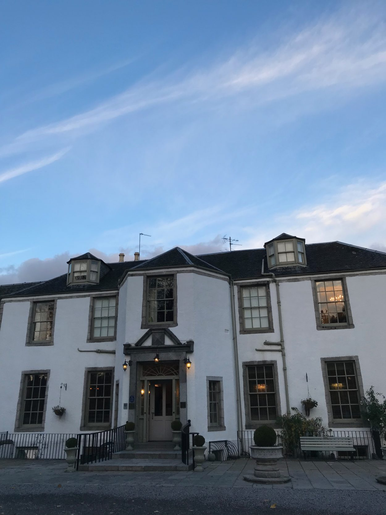 Review Dinner Bed And Breakfast At Banchory Lodge Boys Eat Scotland