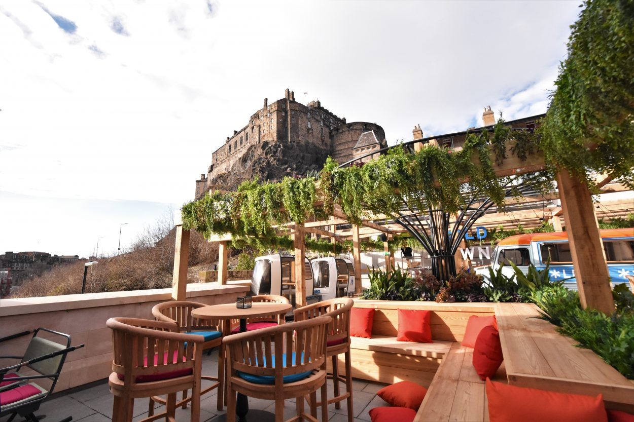 NEWS: Is this Edinburgh's Finest Roof Terrace to enjoy the