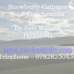 Snowberry Cottages – Self Catering Cottages in Onich